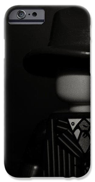 Lego Film Noir II iPhone Case by Cinema Photography