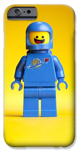 Lego iPhone Cases - Lego Movie Benny iPhone Case by Samuel Whitton
