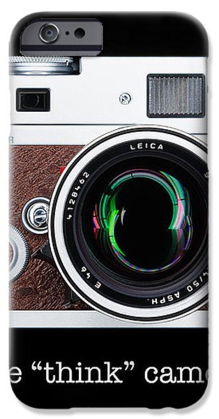 Leica M7 iPhone Case by Dave Bowman