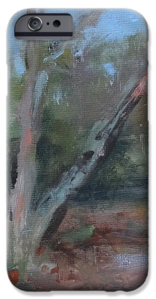 Leiper's Creek Study iPhone Case by Carol Berning