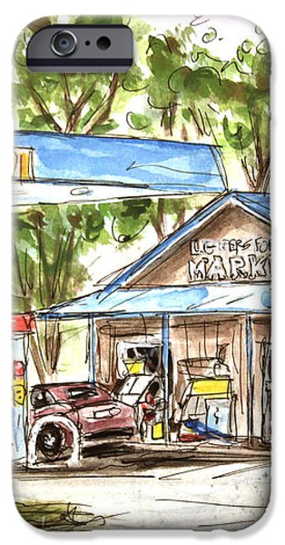 Leipers Fork Market iPhone Case by Tim Ross