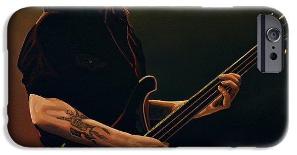 Hard Rock iPhone Cases - Lemmy Kilmister iPhone Case by Paul  Meijering