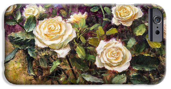 Smithsonian Paintings iPhone Cases - Lemon Custard iPhone Case by Bill Inman