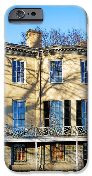 Lemon Hill Mansion iPhone Case by Olivier Le Queinec