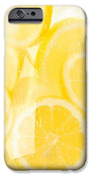 Lemon Drops iPhone Cases - Lemonade iPhone Case by Jt PhotoDesign