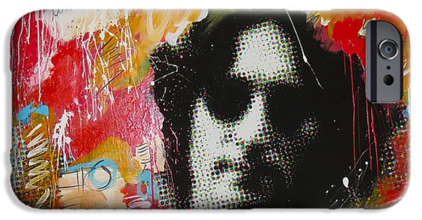Beatles iPhone Cases - Lennon iPhone Case by Elliott From