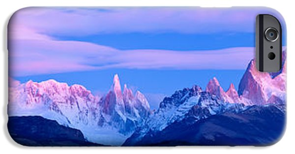 Park Scene iPhone Cases - Lenticular Clouds And Pre-dawn Light iPhone Case by Panoramic Images