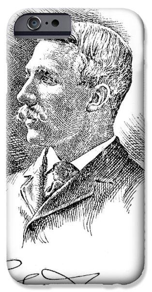 LEONARD WOOD (1860-1927) iPhone Case by Granger