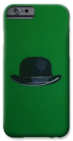 Symbolism Of The Hand iPhone Cases - Leprechaun Green iPhone Case by Venus