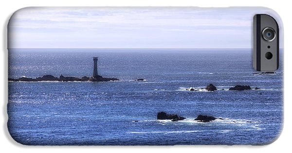 `les iPhone Cases - Les Hanois Lighthouse - Guernsey iPhone Case by Joana Kruse