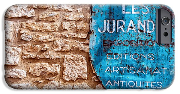 South West France iPhone Cases - Les Jurandes Bonaguil iPhone Case by Nomad Art And  Design