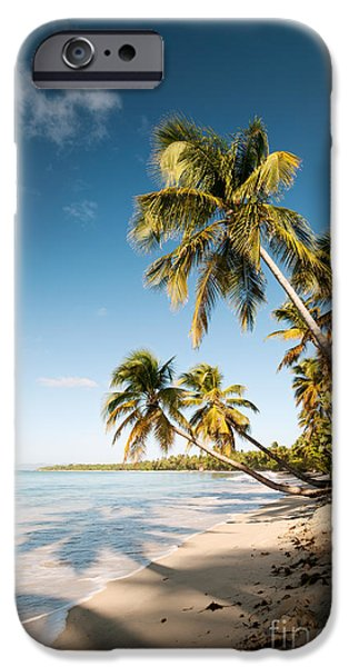 Escape iPhone Cases - Les Salines beach II iPhone Case by Matteo Colombo