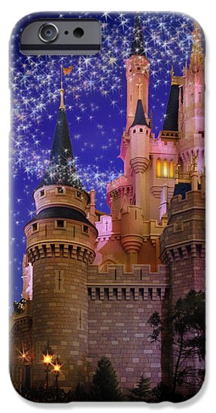 Magic Kingdom iPhone Cases - Let The Magic Begin iPhone Case by Doug Kreuger