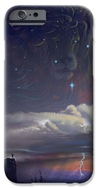 Hope Digital Art iPhone Cases - Let The Wind Blow iPhone Case by Cliff Hawley