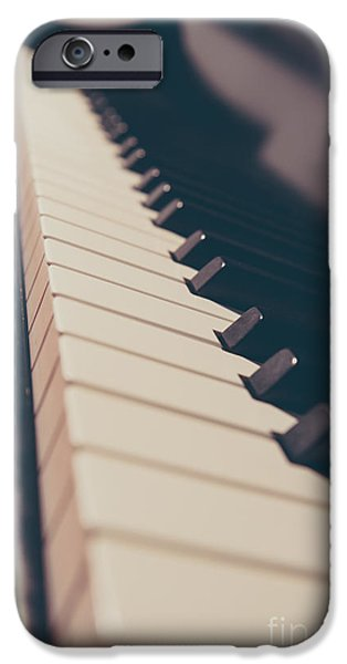 Piano iPhone Cases - Lets Play a Tune iPhone Case by Emily Enz