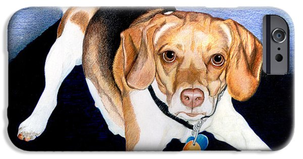 Owner Drawings iPhone Cases - Lets Play iPhone Case by Londie Benson