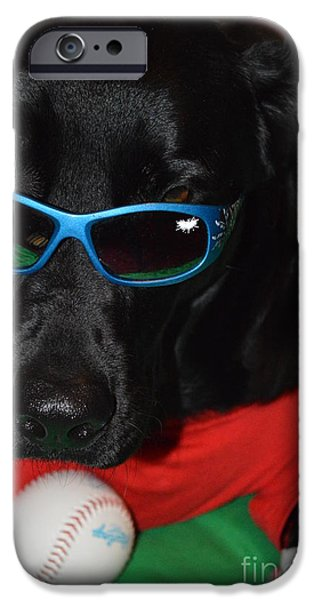 Puppy Digital iPhone Cases - Lets Play iPhone Case by Tina Gyselinck