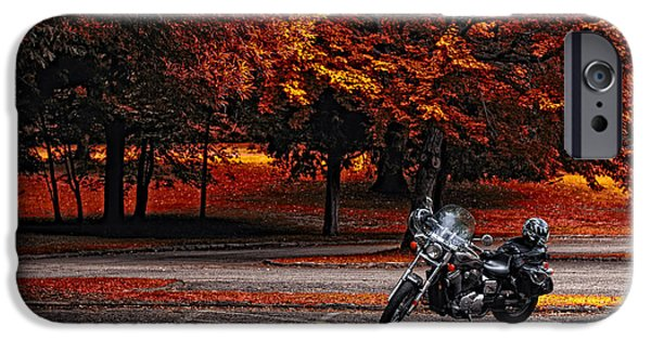 Nature Scene iPhone Cases - Lets Ride iPhone Case by Mark Papke