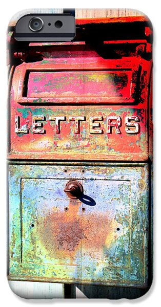 Us Postal Service iPhone Cases - Letters iPhone Case by Karyn Robinson