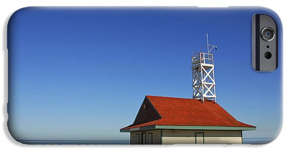 Savings iPhone Cases - Leuty Lifeguard Station in Toronto iPhone Case by Elena Elisseeva