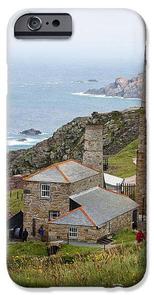 Levant Mine and Beam Engine iPhone Case by Terri  Waters