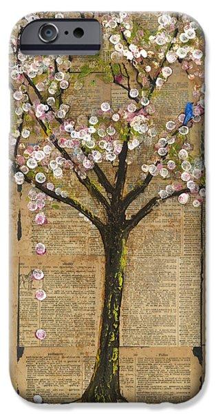 Lexicon Tree of Life 3 iPhone Case by Blenda Studio