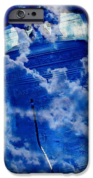4th July Photographs iPhone Cases - Liberty Bell 3.0 iPhone Case by Stephen Stookey