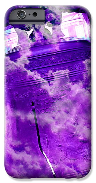 4th July iPhone Cases - Liberty Bell 3.4 iPhone Case by Stephen Stookey