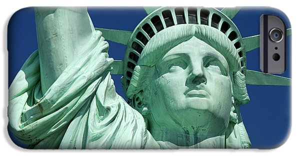 Fourth Of July iPhone Cases - Liberty iPhone Case by Brian Jannsen
