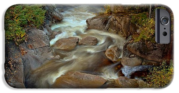 The Pool iPhone Cases - Liberty Gorge Pool iPhone Case by Adam Jewell