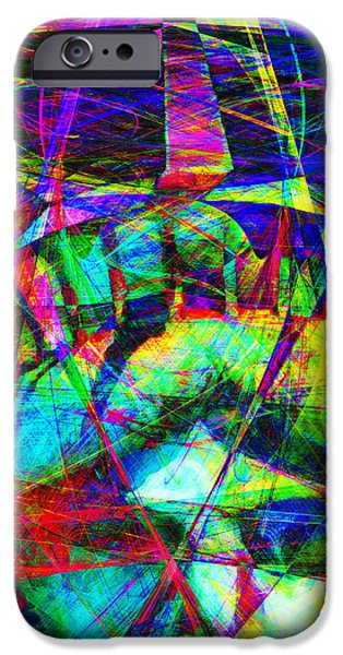 Liberty Head Abstract 20130618 square iPhone Case by Wingsdomain Art and Photography