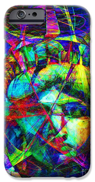 4th July iPhone Cases - Liberty Head Abstract 20130618 iPhone Case by Wingsdomain Art and Photography