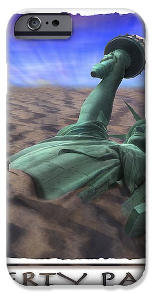 Liberty Park iPhone Case by Mike McGlothlen