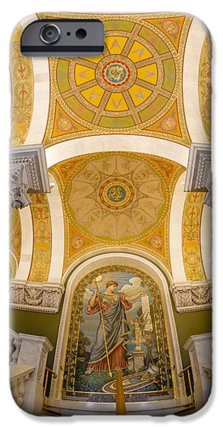 Building iPhone Cases - Library Of Congress iPhone Case by Susan Candelario