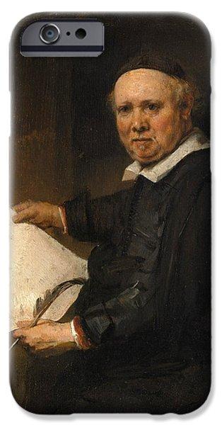 Lieven iPhone Cases - Lieven Willemsz van Coppenol iPhone Case by Rembrandt
