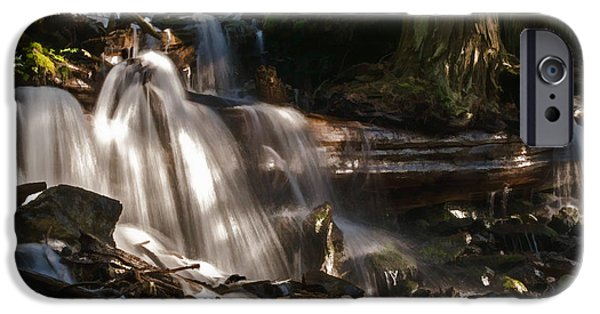 Jordan iPhone Cases - Life Begins To Flow iPhone Case by Jordan Blackstone