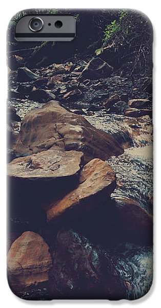 Life Flows On iPhone Case by Laurie Search