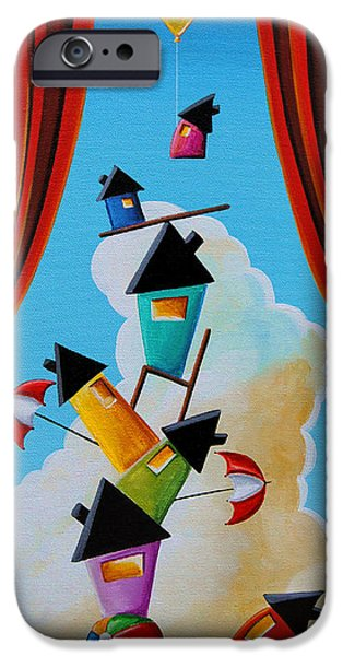 House iPhone Cases - Life In Balance iPhone Case by Cindy Thornton