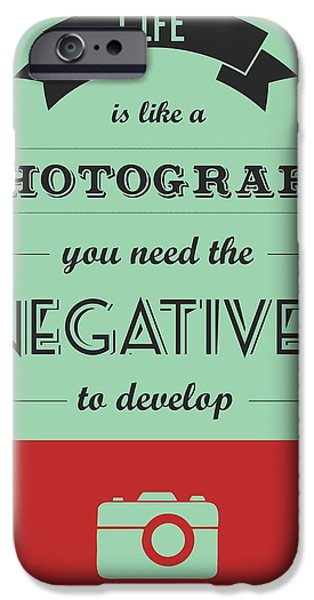 Reality iPhone Cases - Life Inspirational Quotes typography iPhone Case by Lab No 4 - The Quotography Department