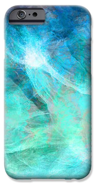 Life Is A Gift - Abstract Art iPhone Case by Jaison Cianelli