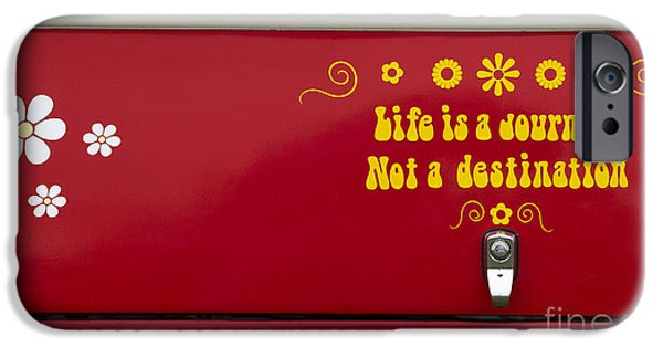 Stickers. iPhone Cases - Life is a Journey iPhone Case by Tim Gainey