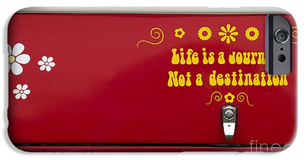 Sticker iPhone Cases - Life is a Journey iPhone Case by Tim Gainey