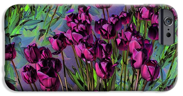 Floral Digital Art Digital Art iPhone Cases - Life is Beautiful iPhone Case by Music of the Heart