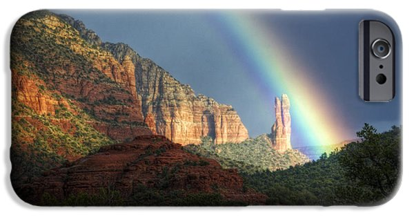 Sedona iPhone Cases - Life is Beautiful  iPhone Case by Saija  Lehtonen