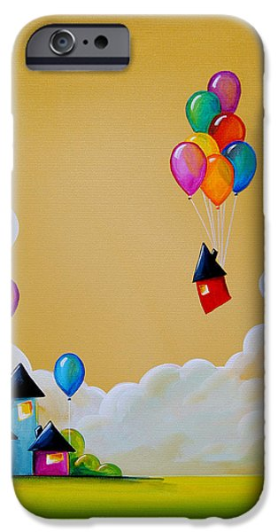 House iPhone Cases - Life Of The Party iPhone Case by Cindy Thornton