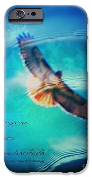 Matting iPhone Cases - Life Reflects Our Passion iPhone Case by Bobbee Rickard