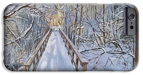 Pathway iPhone Cases - Lifes  Path iPhone Case by Sharon Duguay