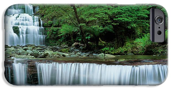 Fall iPhone Cases - Liffey Falls, Tasmania, Australia iPhone Case by Panoramic Images