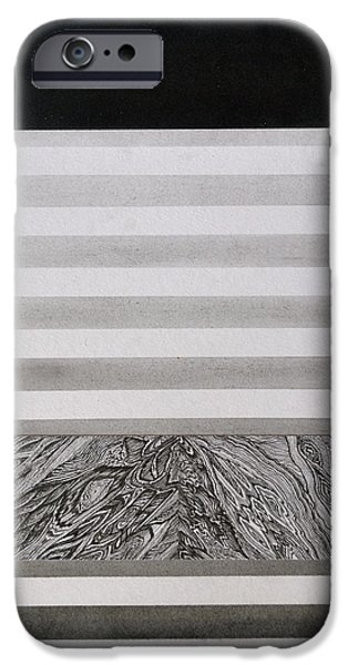 Stripes iPhone Cases - Lift iPhone Case by Charles Sommer
