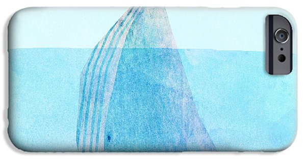 Ocean Drawings iPhone Cases - Lift iPhone Case by Eric Fan